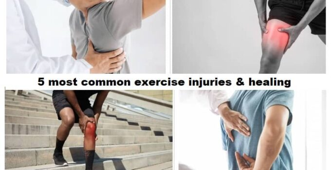 5 most common exercise injuries & healing