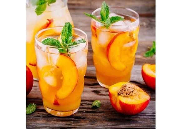 Ginger Peach juice
