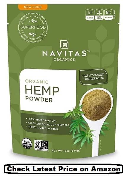 Navitas Organics Hemp Powder