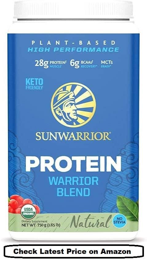 Sunwarrior Organic Vegan Protein Powder Warrior Blend