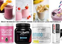 8 Best workout recovery drink for weight loss naturally